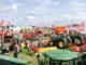 Überblick über die Treckerausstellung der Norla