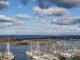 Heiligenhafen von oben