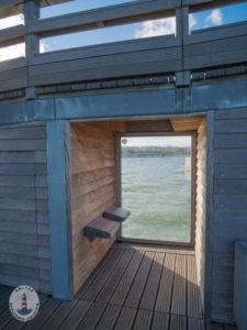 Aussichtspunkt auf der Seebrücke Heiligenhafen