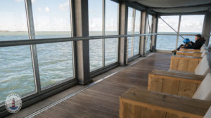 Lounge auf der Seebrücke Heiligenhafen