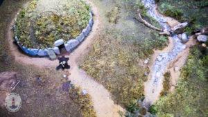 Hügelgrab Miniatur im Schloss Gottorf