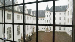 Blick in den Innenhof vom Schloss Gottorf