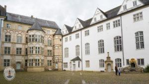 Innenhof vom Schloss Gottorf