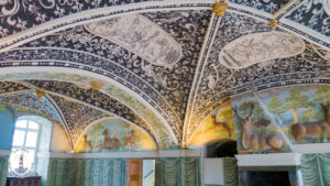 Decke im Hirschsaal von Schloss Gottorf