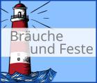 """Logo Kategorie """"Bräuche und Feste"""" bei Erlebe Schleswig-Holstein"""