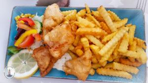 Fish'n'Chips im Imbiss Köstlich in Neustadt Holst