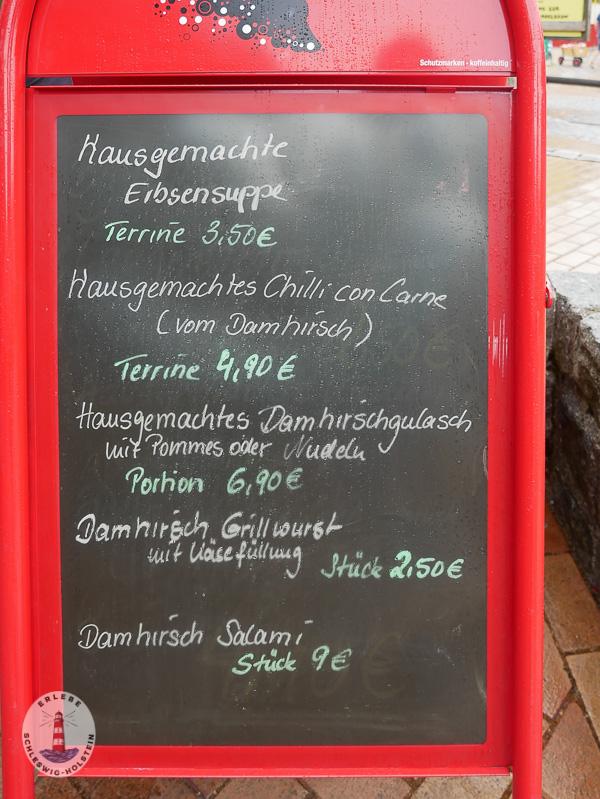 Essenspreise im Freizeitpark Tolk-Schau