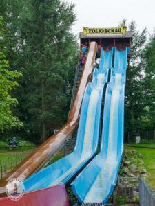 Riesenrutsche im Freizeitpark Tolk-Schau