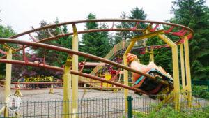Achterbahn im Freizeitpark Tolk-Schau
