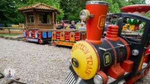 Mini Eisenbahn im Freizeitpark Tolk-Schau