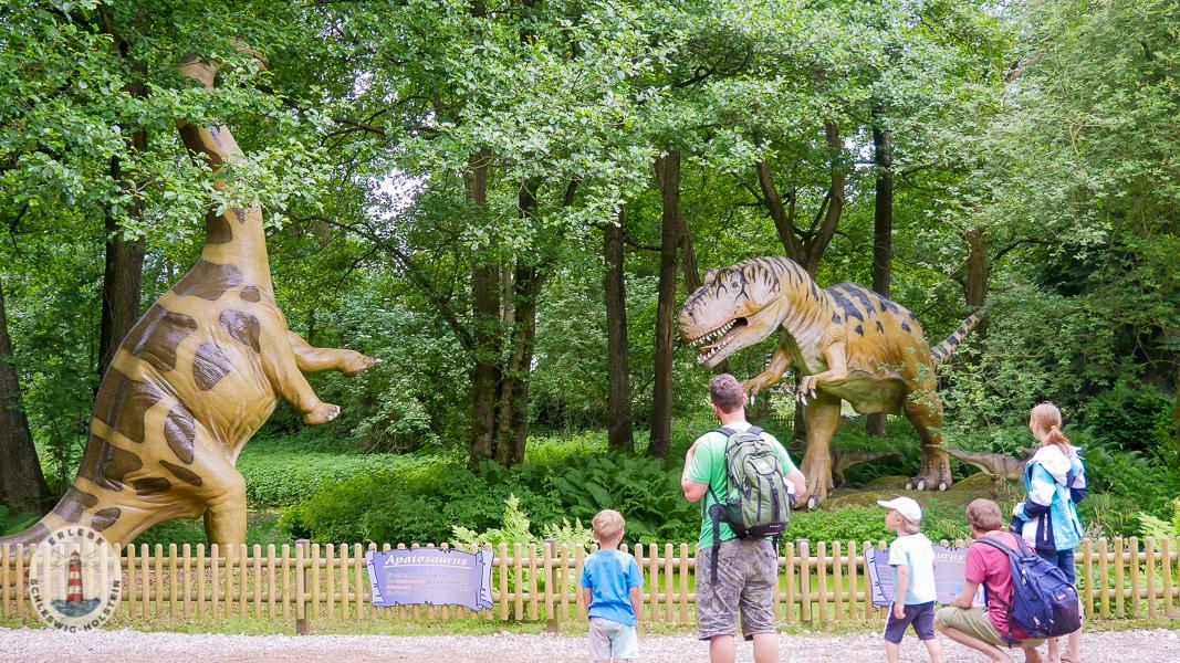 Dinosaurier im Freizeitpark Tolk-Schau