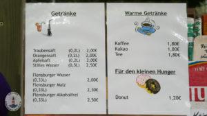Preise Getränke Tolk-Schau