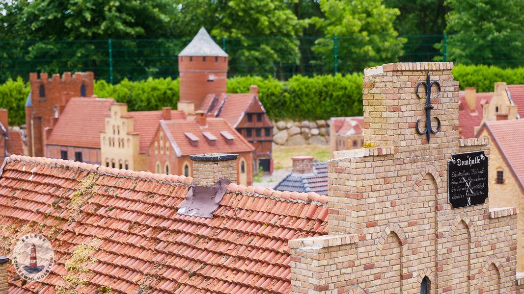 Miniatur Stadt im Tolk-Schau