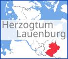 Karte von Herzogtum Lauenburg