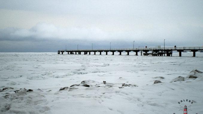 Timmendorfer Strand Ostsee im Winter